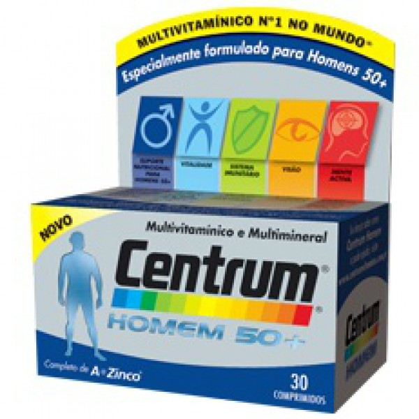 Centrum Homem 50+ 30 comprimidos