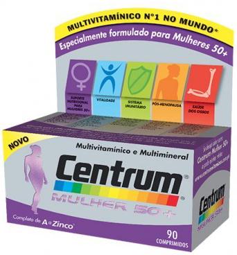 Centrum Mulher 50+ 90 comprimidos
