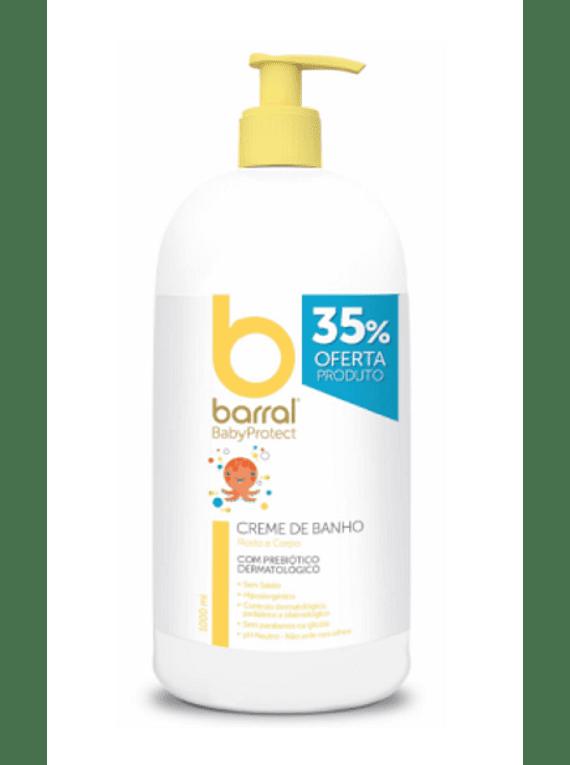 Barral Babyprotect Creme de Banho 1000 mL