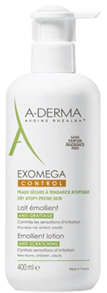 A-Derma Exomega Control Leite Emoliente Anti-Prurido 400 mL