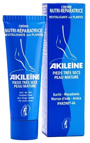 Akileine Creme Nutri Reparador Pés Muito Secos 75 mL