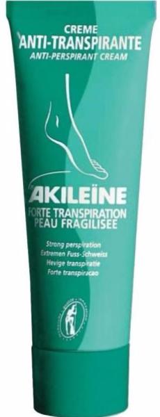 Akileine Creme Anti-Transpirante Pés 50 mL