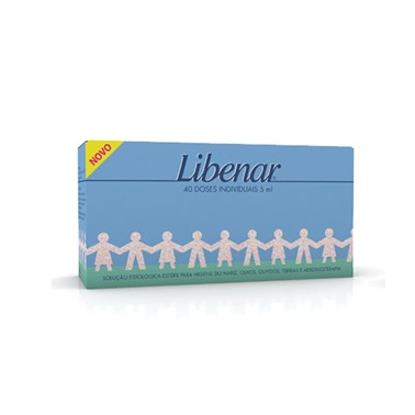 Libenar Baby Soro Fisiológico 5 mL 40 unidades