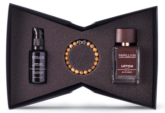 Papillon Coffret Golden - Anti-age 30 mL + Upton Perfume 50 mL