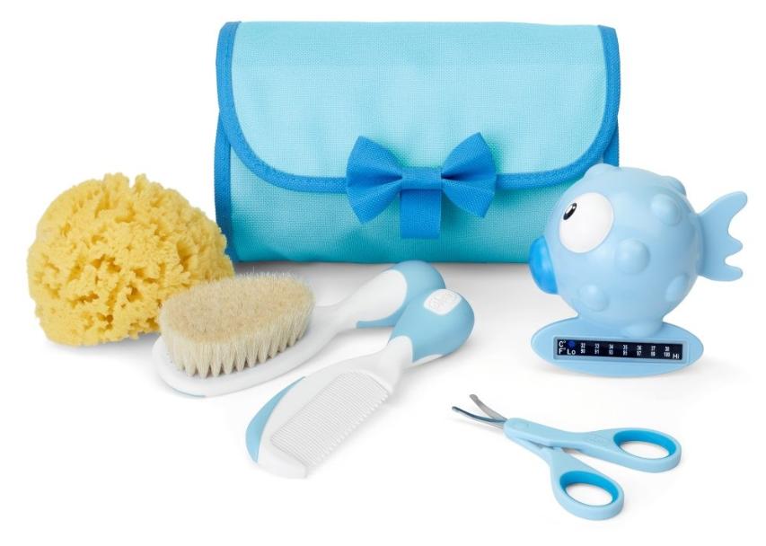 Chicco Conjunto de Higiene Menino +0 meses Azul