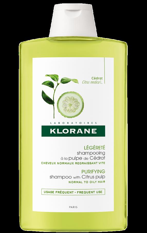 Klorane Capilar Champô Polpa de Cidra 200 mL