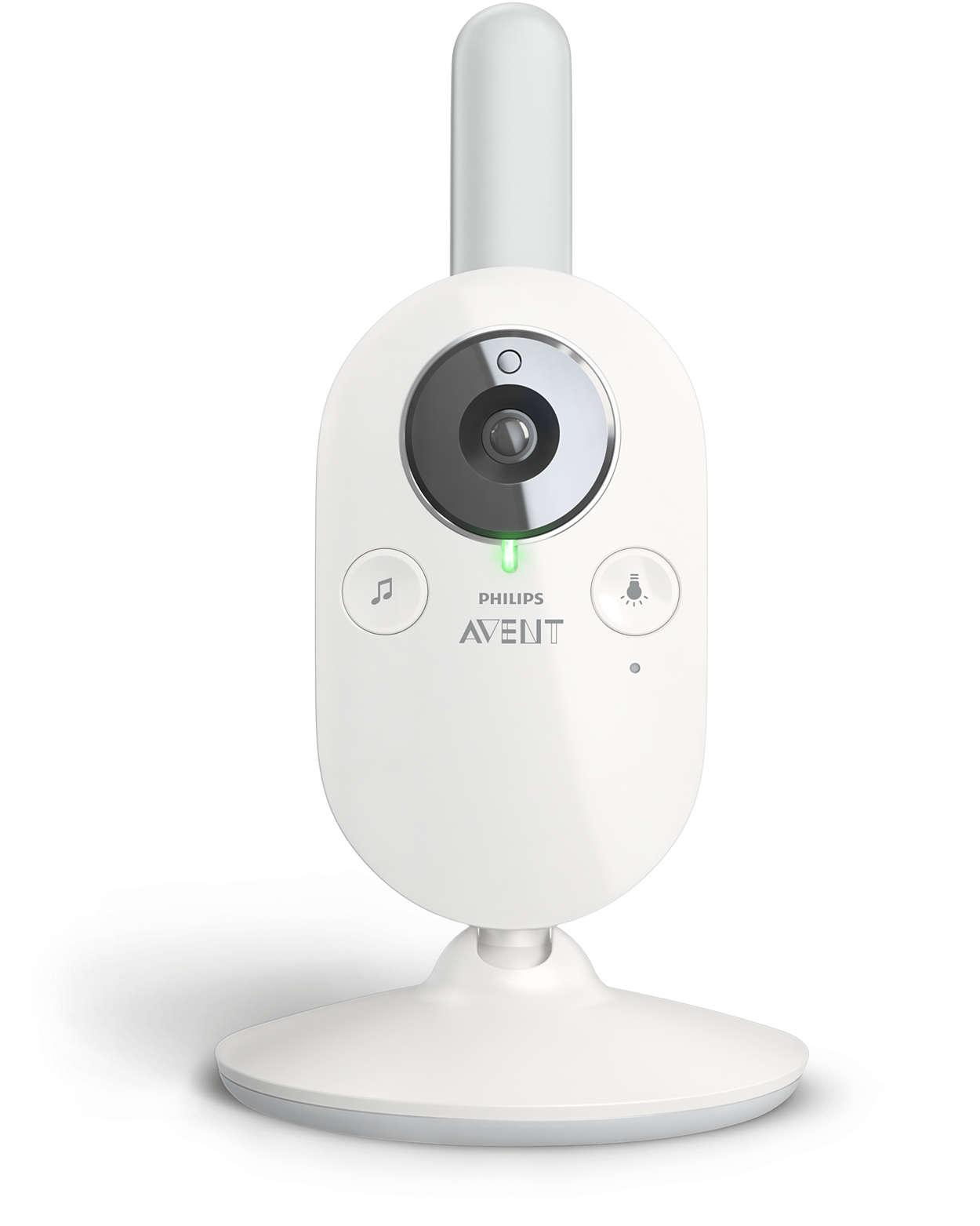 Philips Avent Intercomunicador Digital com Câmara 843