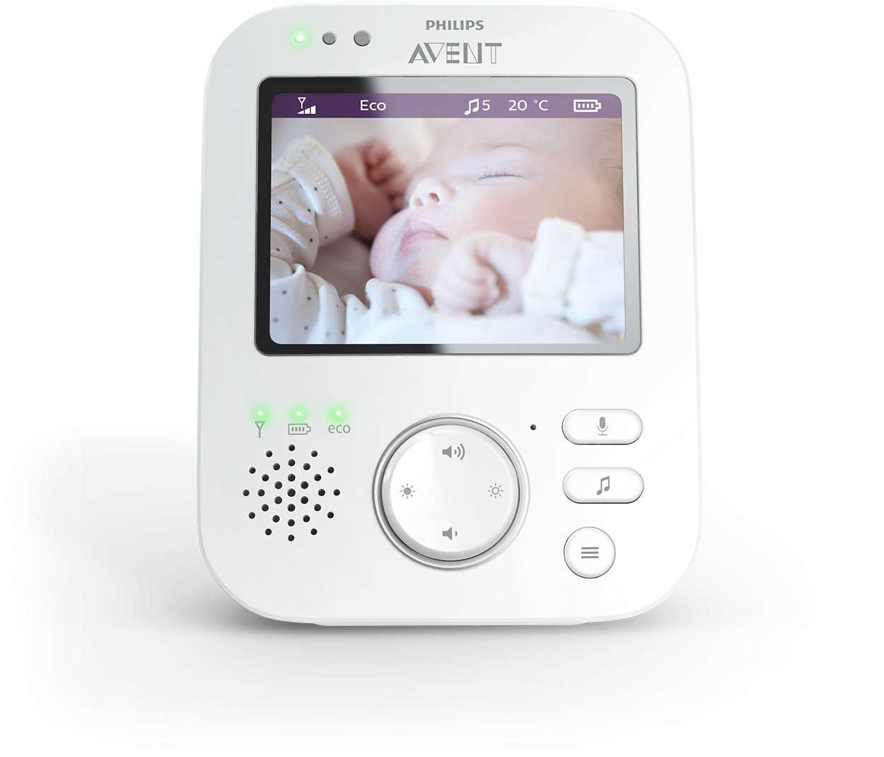Philips Avent Intercomunicador Digital com Câmara 630