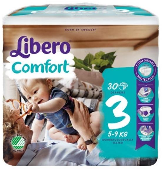 Libero Fralda Confort (T3) x 6        (5.50€/pacote)
