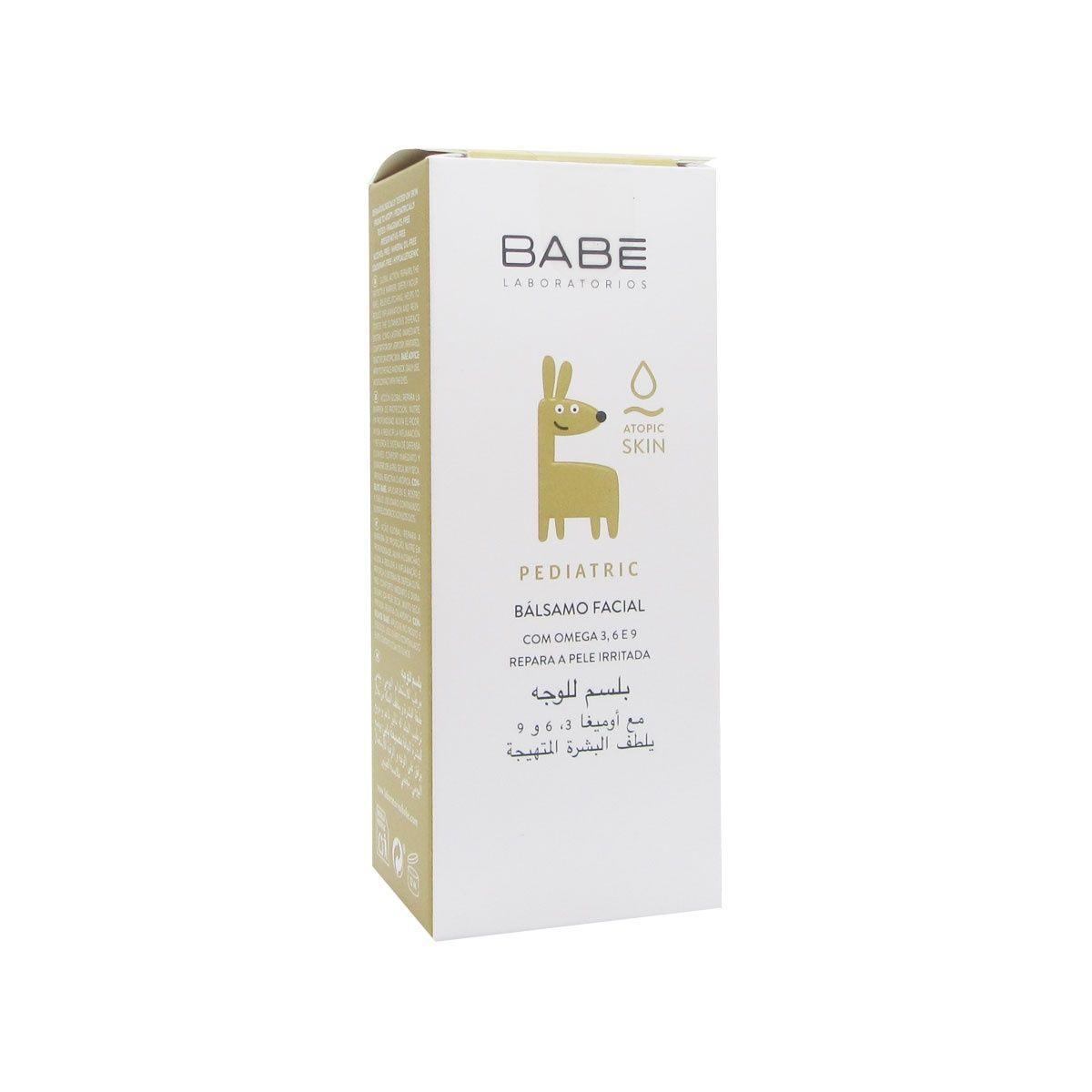 Babe Hidratante Facial Pediátrico SPF 30+ 50 mL