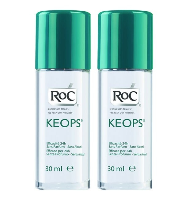 RoC Keops Desodorizante Roll On 2 x 30 mL