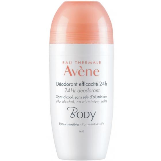 Avène Body Desodorizante Roll-on 24h Eficácia 50ml