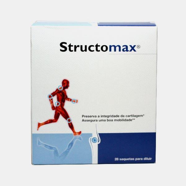 Structomax Saquetas X 28 pó solução oral saquetas
