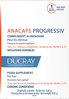 Ducray Anacápsulas Progressiv Cápsulas X 30 cápsulas