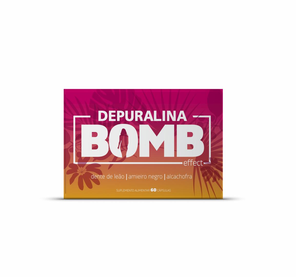 Depuralina Bomb Effect x60 Cápsulas