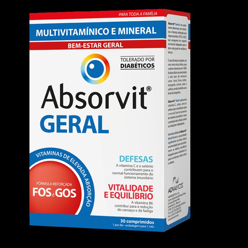 Absorvit GERAL Comprimidos  x30 Comprimidos