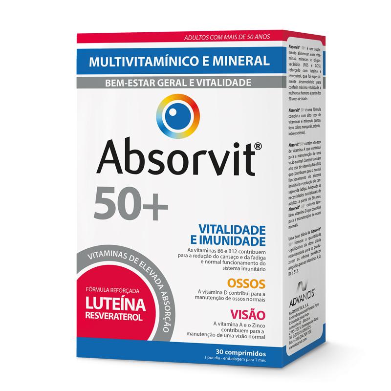 Absorvit 50+ x30 Comprimidos
