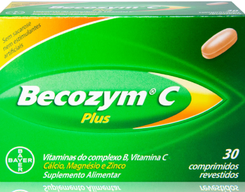 Becozyme C Plus  X 30 comprimidos
