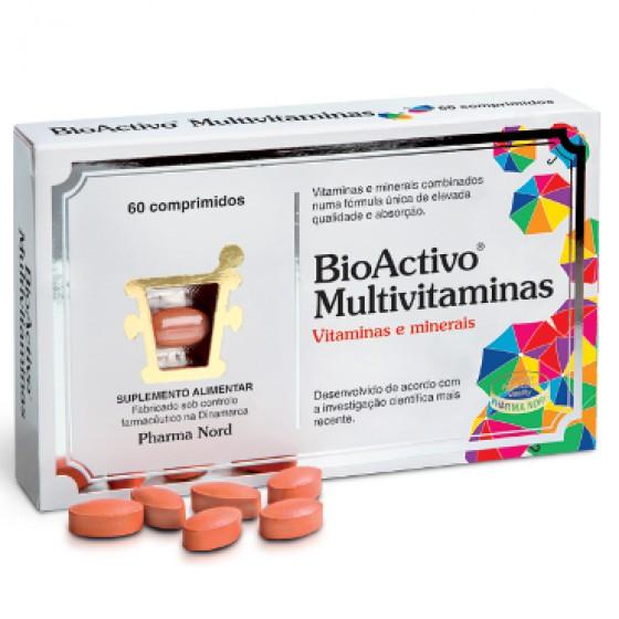Bioactivo Multivitaminas  X 60 comprimidos