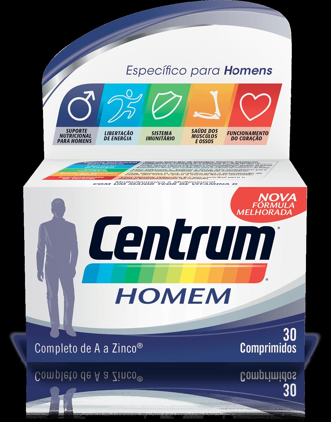Centrum Homem  x30 Comprimidos