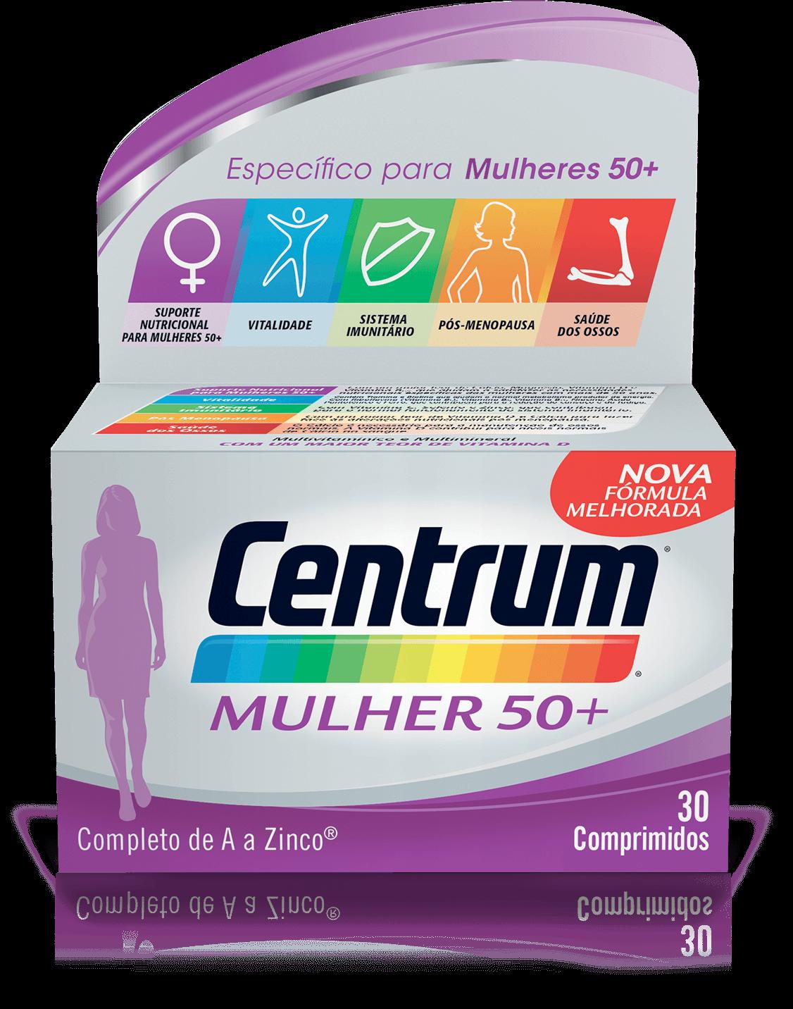 Centrum Mulher50+  X 30 comprimidos