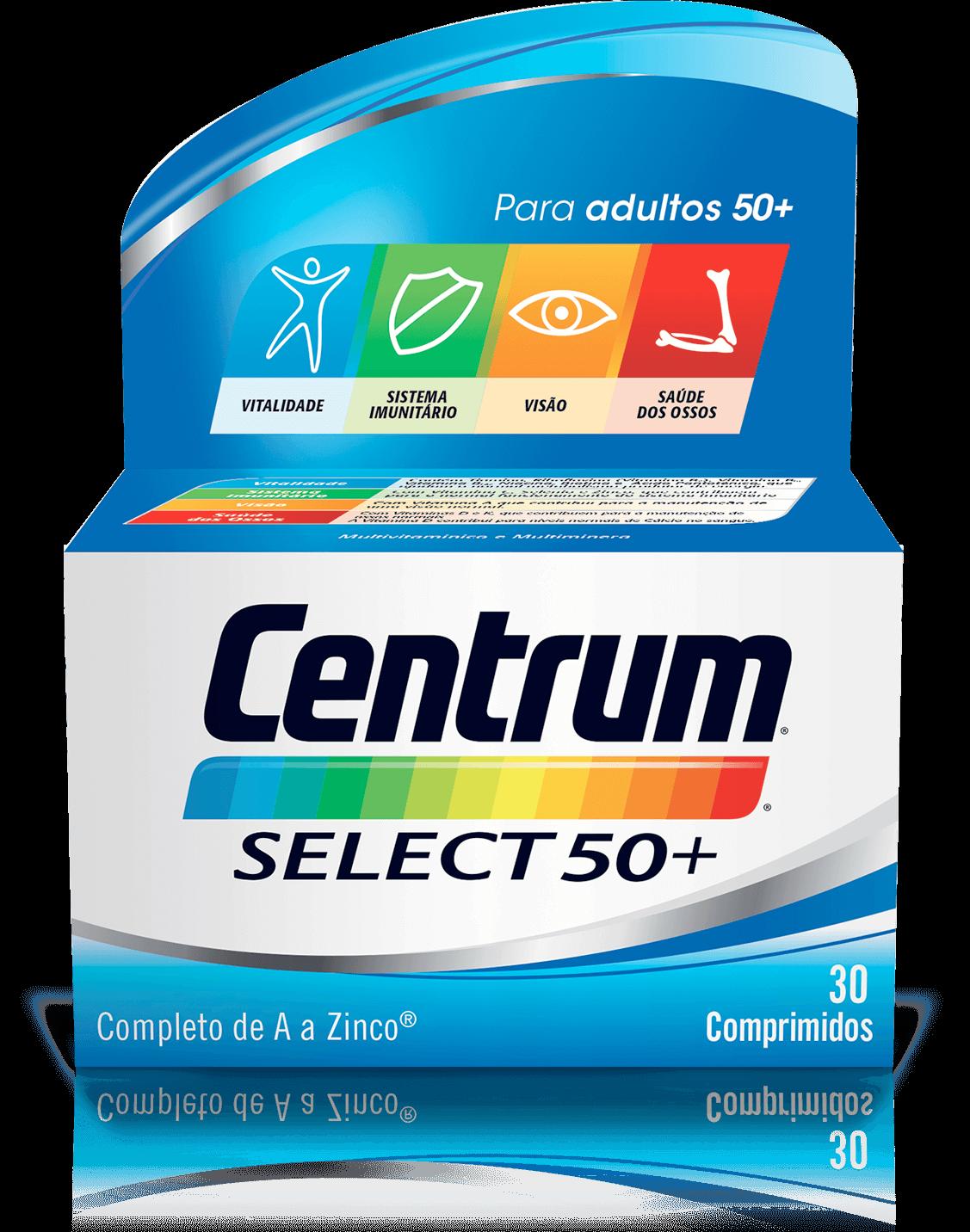 Centrum Select50+ X30 Comprimidos Revestidos