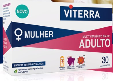 Viterra Mulher Adulto X30 Comprimidos