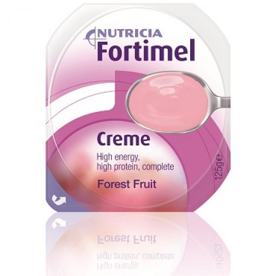 Fortimel Creme Frutos Silvestres Pack de 4 pudins, com 125g cada.