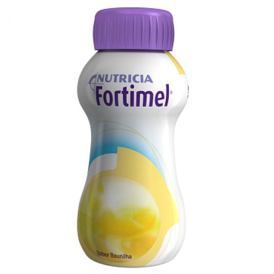 Fortimel Baunilha  Pack de 4 garrafas com 200 ml cada.