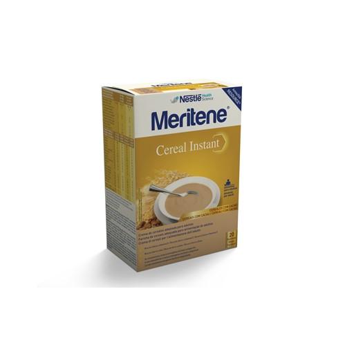 Meritene Cereal Instant Cacau Saq 300g X2 pó susp oral medida