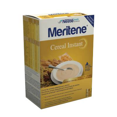 Meritene Cereal Instant Mel Saq 300g X2 pó susp oral medida