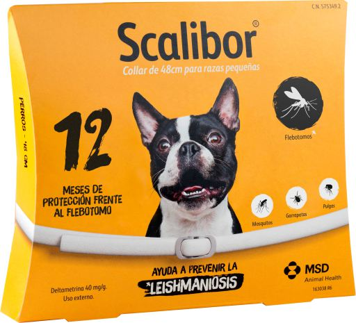 Scalibor Coleira 48 cm Inseticida para Cães Médios/Pequenos