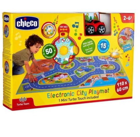 Chicco Brinquedo Tapete Eletrónico Cidade 2-6 Anos