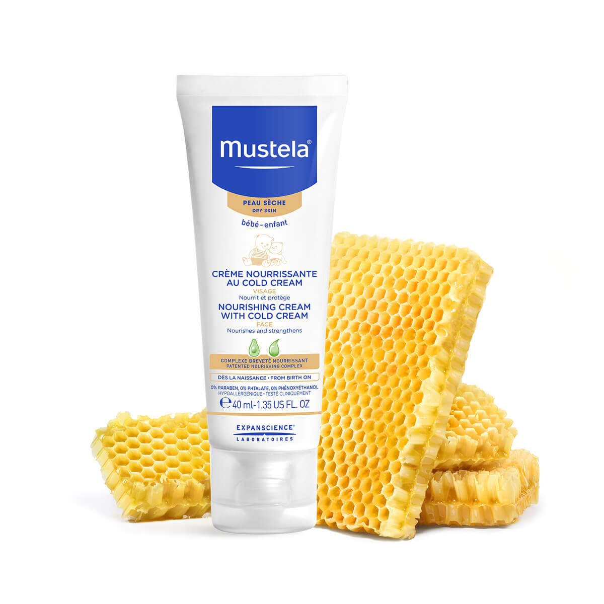 Mustela Bebé Creme Nutritivo Cold Cream 40ml