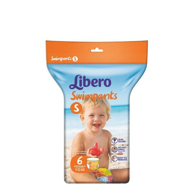 Libero Swimpants Fraldas Tamanho S -  7-12 Kg