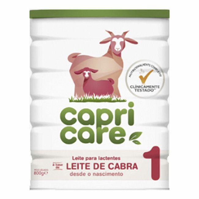 CapriCare 1 Leite de Cabra para Lactentes 0m+  800g