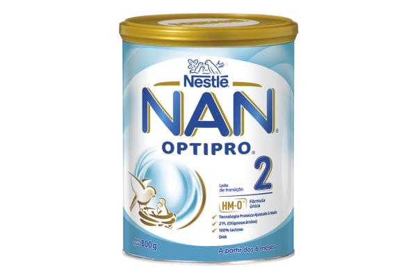NAN Optipro 2 Leite de transição 800 g
