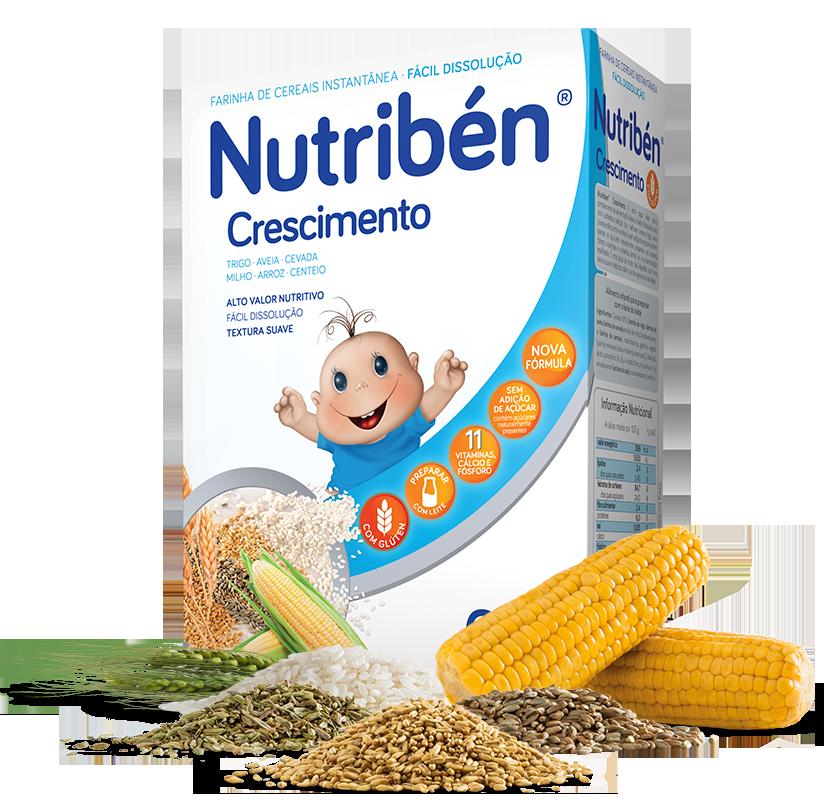 Nutribén Farinha Não Láctea Crescimento 6m+  - 300g