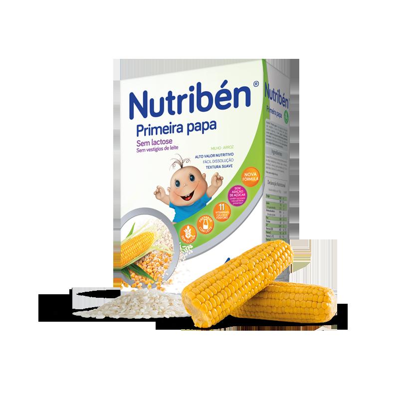 Nutribén Farinha Primeira Papa S/Glúten 4m+  - 300g