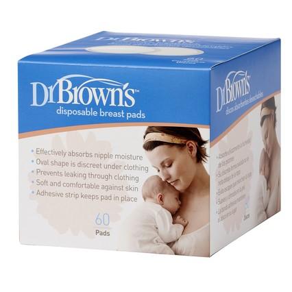 Dr Brown's Discos de Aleitamento Descartáveis x60