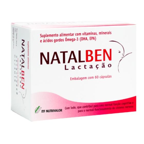 Natalben Lactacao Caps X 60 cáps(s)