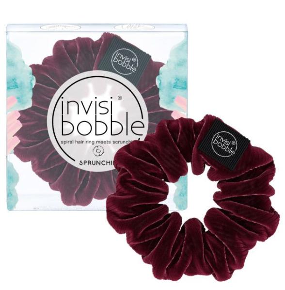 Invisibobble Sprunchie Elástico Cabelo Veludo Bordeaux