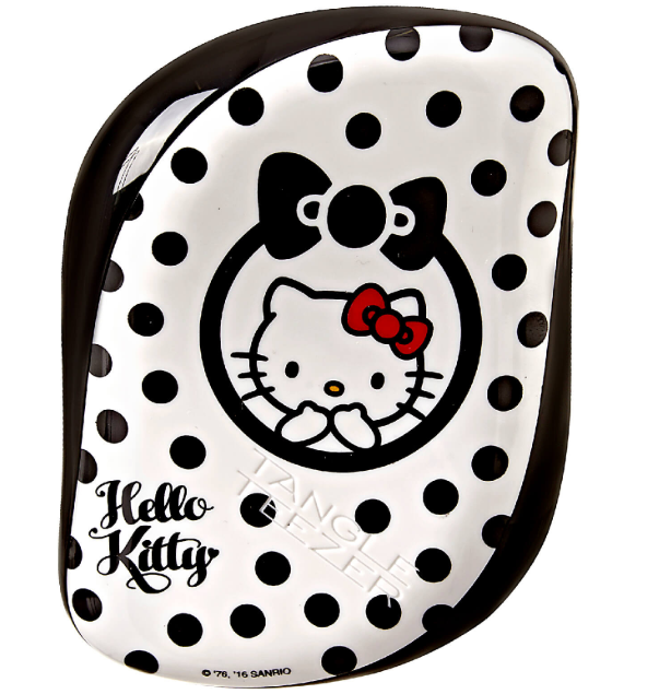 Tangle Teezer Escova Compact Kitty Branca/Preta