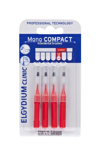 Elgydium Clinic Escovilhão Mono Compact Vermelho