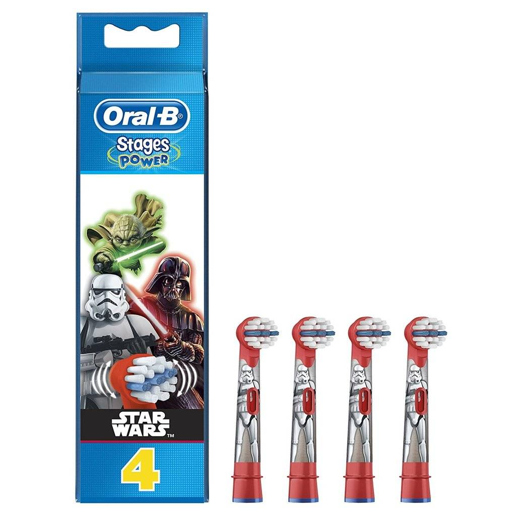 Oral B Recarga Escova Eléctrica Stages Star Wars X4