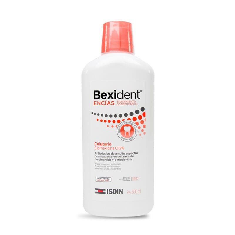 Bexident Gengivas Colutório Clorohexidina 500ml