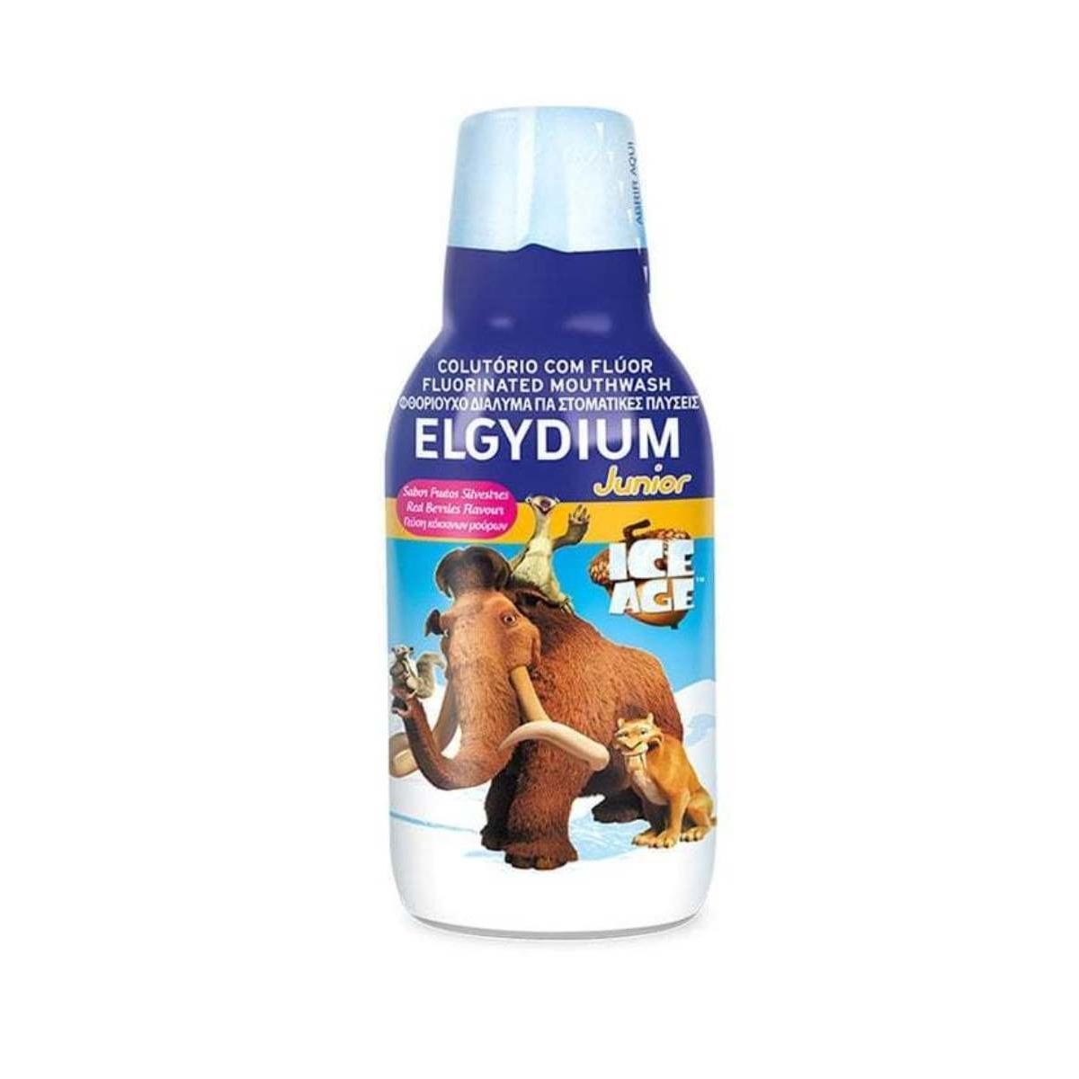 Elgydium Júnior Colutório Flúor Idade Gelo 500ml