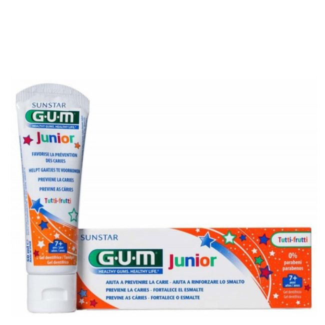 Gum Júnior Pasta Dentes Tutti Frutti 50ml