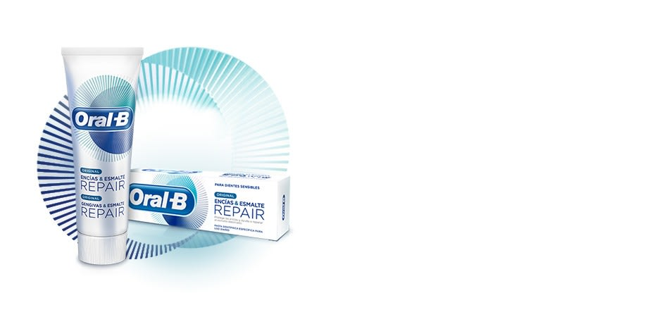 Oral-B Gengivas Esmalte RepairPasta dentífrica Original 75 ml com Oferta de 25 ml