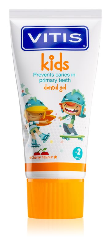 Vitis Kids Gel Dentífrico Cereja 50 Ml